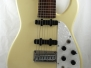 #7 8 String Strat in White
